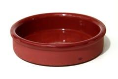 Ceramische kom Stock Afbeelding