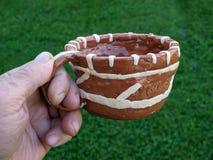 Ceramische kop 2 Stock Foto's
