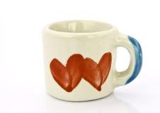 Ceramische kop Royalty-vrije Stock Afbeelding