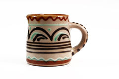 Ceramische kop Stock Foto