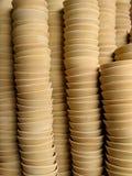 Ceramische koppen Stock Afbeeldingen