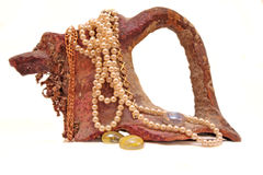 Ceramische kruik Royalty-vrije Stock Foto's