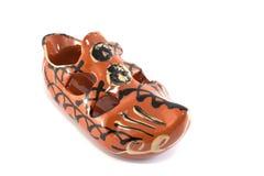 Ceramische laars Stock Afbeelding