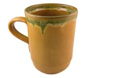 Ceramische mok royalty-vrije stock fotografie