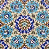 Ceramische muur Stock Afbeeldingen