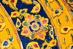 Ceramische muurachtergrond Royalty-vrije Stock Foto's