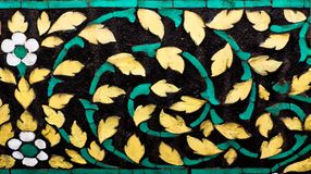 Ceramische muurachtergrond Stock Fotografie
