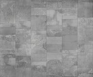 Ceramische, naadloze de textuur lichtgrijze kaart van de leitegel voor 3d grafisch Stock Foto's