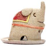 Ceramische olifant Royalty-vrije Stock Fotografie
