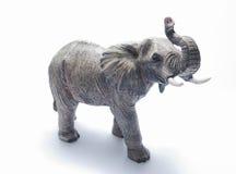Ceramische olifant royalty-vrije stock afbeeldingen