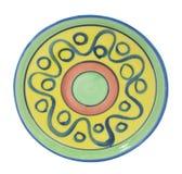 Ceramische onderleggers voor glazen Royalty-vrije Stock Afbeelding