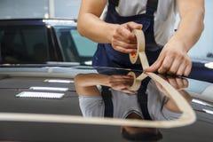 Ceramische opgepoetste auto Stock Foto's