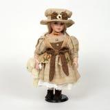 Ceramische oud dolly Royalty-vrije Stock Afbeelding