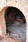 Ceramische oven royalty-vrije stock foto
