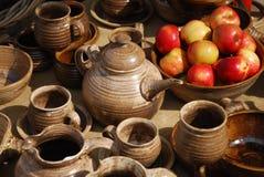 Ceramische pensionering royalty-vrije stock afbeeldingen