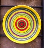 Ceramische plaat Stock Afbeeldingen