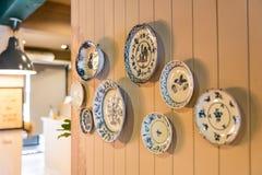 Ceramische plaat Royalty-vrije Stock Afbeelding