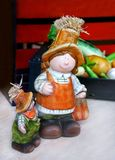 Ceramische pop twee voor tuin Stock Fotografie