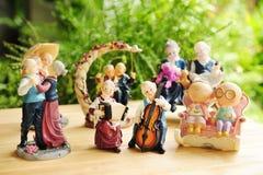 Ceramische poppen royalty-vrije stock foto's