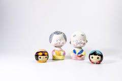 Ceramische poppen Royalty-vrije Stock Afbeelding