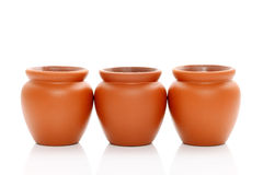 Ceramische pot Stock Afbeelding