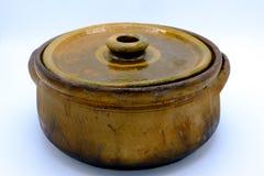 Ceramische Pot Royalty-vrije Stock Foto