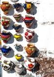 Ceramische schepen Stock Foto