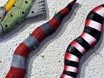 Ceramische slangen, Santa Fe stock afbeeldingen