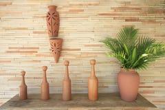 Ceramische vaas Stock Foto