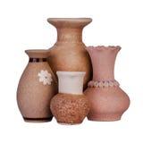 Ceramische vaas Stock Afbeelding