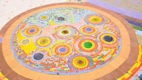 Ceramische vloer Royalty-vrije Stock Afbeeldingen