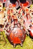 Ceramische waterkruik Stock Afbeeldingen