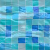 Ceramische, zwembadtegels Royalty-vrije Stock Fotografie