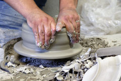 Ceramist Royalty Free Stock Images
