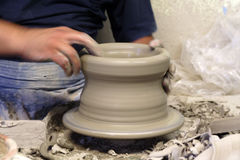 Ceramista Fotografía de archivo