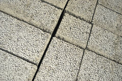 Ceramsite concrete blocks Royalty Free Stock Image
