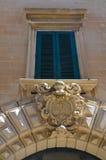 Cerasini Palace. Lecce. Puglia. Italy. Stock Images