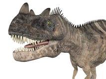 Ceratosaurus royaltyfri illustrationer