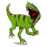 Ceratosaurus Dinosaur. An image of a Ceratosaurus dinosaur Royalty Free Stock Image