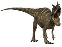 ceratosaurus dinozaura nasicornis 3 d royalty ilustracja