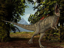 Ceratosaurus nasicornis-3D Dinosaurier vektor abbildung