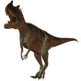 Ceratosaurus nasicornis-3D Dinosaurier stock abbildung
