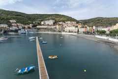 Cerbere,Occitanie,France. Royalty Free Stock Photos