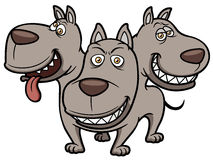 Cerberus cartoon Stock Images