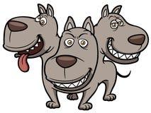 Cerberus cartoon Stock Images