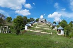 Cerbu-Kloster E lizenzfreie stockfotografie