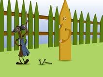Cerca. ilustración del vector