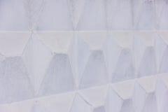 Cerca acanalada blanca grande Stock de ilustración