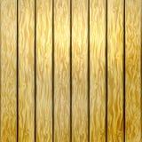 Cerca amarela de madeira Imagens de Stock
