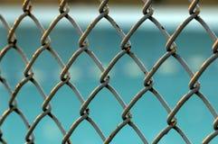 Cerca atada con alambre Imagen de archivo libre de regalías
